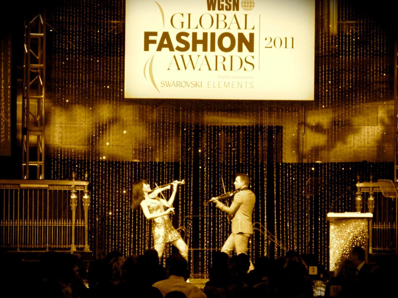 electric violinist fashion awards linzi stoppard