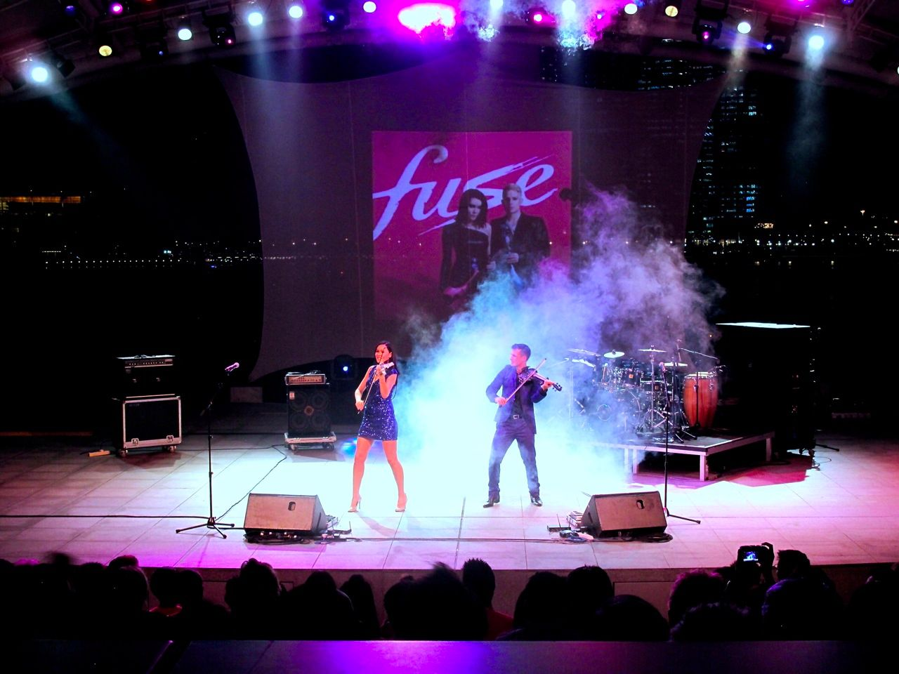 electric violinist fuse singapore