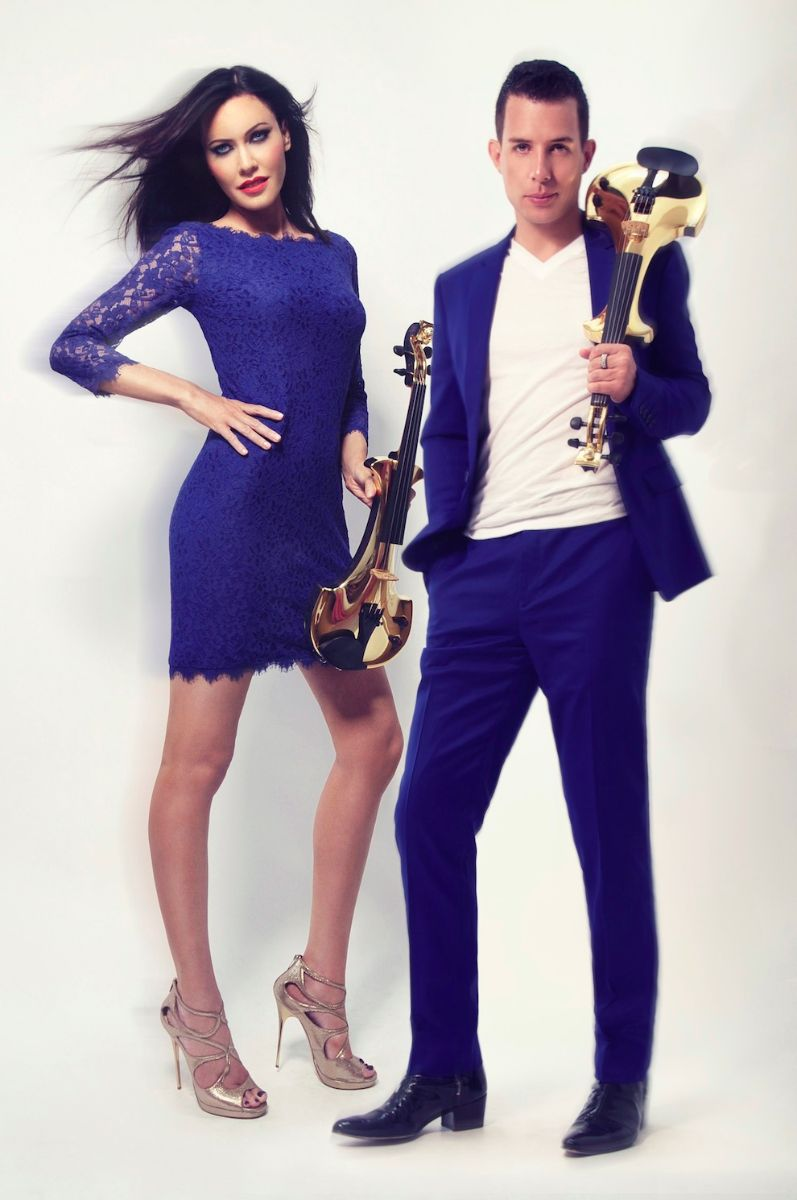 linzi stoppard ben lee gold electric violinists