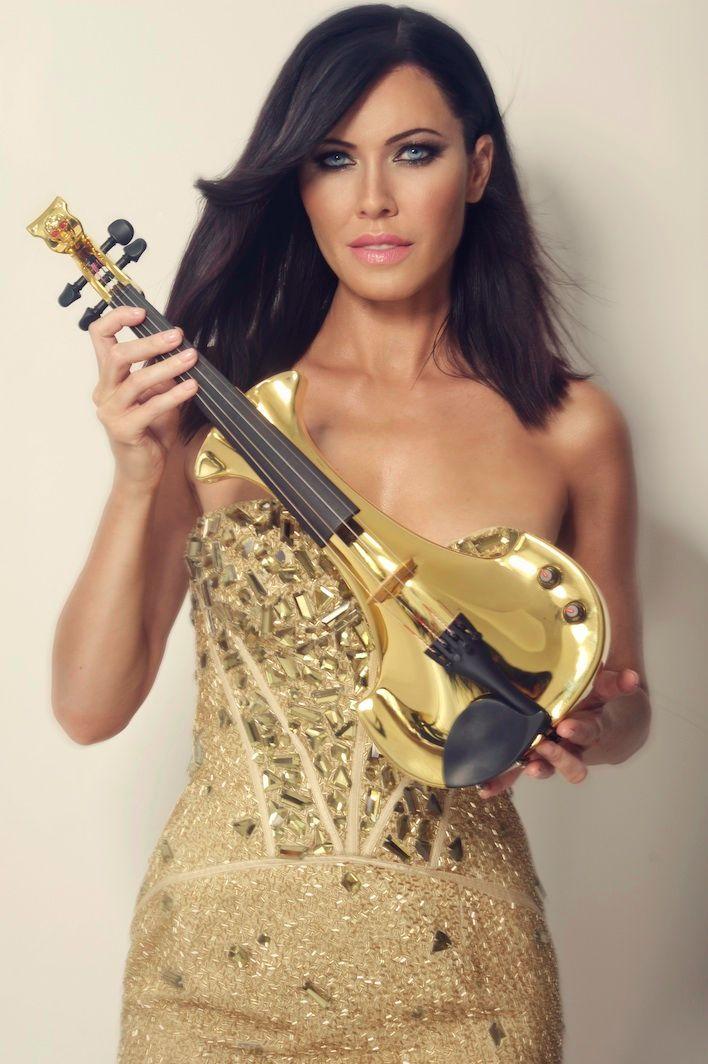 linzi stoppard golden electric violinist