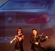 electric violinist BMW