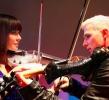 electric violinist Linzi